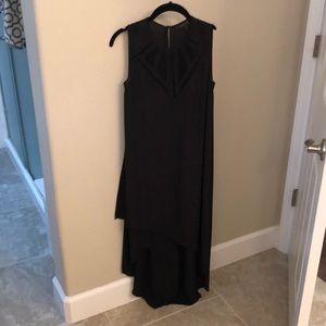 BCBG high low black dress. Worn once!!!